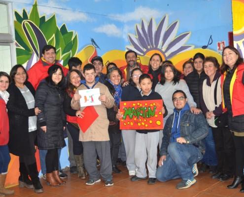 Alcaldesa Carolina Leitao en Escuela Juan Pablo II