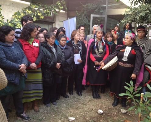 Cesfam celebra año nuevo mapuche