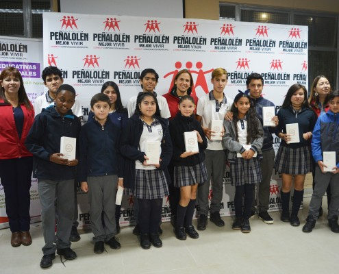 Entrega de Tablets Colegios Municipales Peñalolén 2018