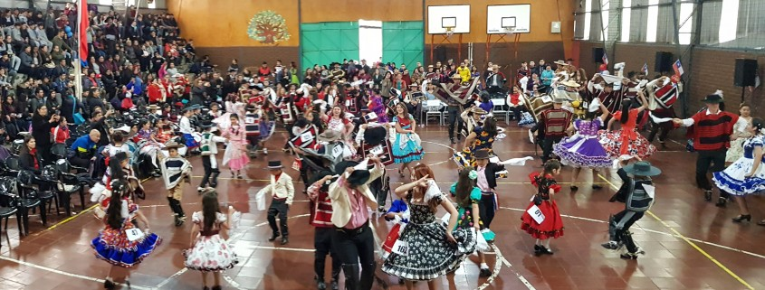 campeonato cueca comunal 2018